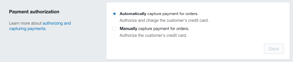 payment auth